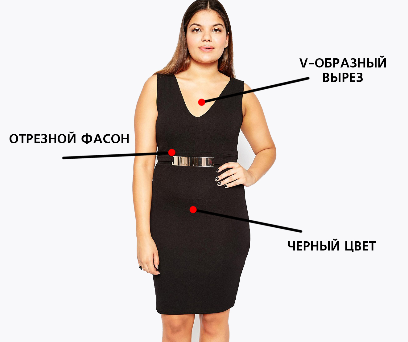 Нестандартная фигура платье фото