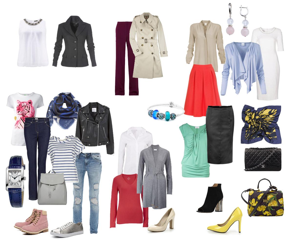 8f990633 Идеальный базовый гардероб - как составить, список базовых вещей ...