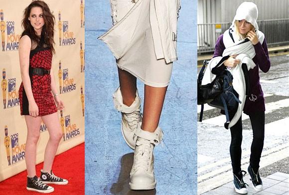 Разберемся с чем носить женские кеды