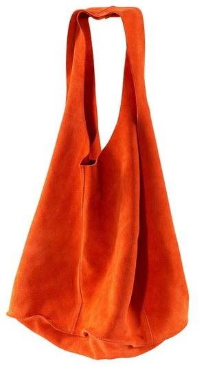 купить женскую сумку из замши красную - Сумки