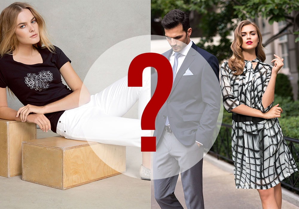Выбор макияжа в разных стилях одежды